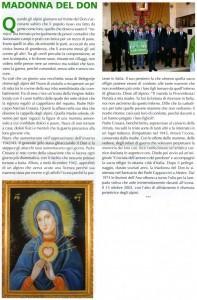 Rivista L'alpino: articolo riguardante la storia della Madonna del Don