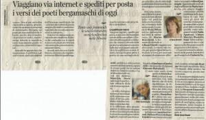 L'Eco di Bergamo e la Poesia