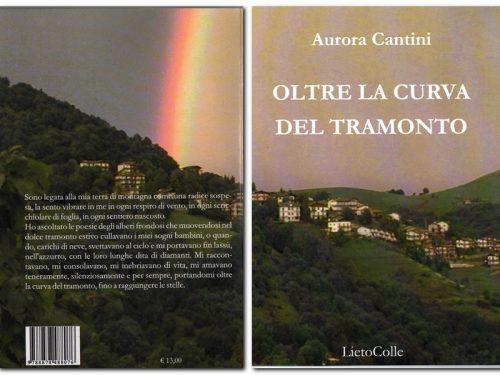 """Nicla Morletti legge """"Oltre la curva del tramonto"""" l'ultima raccolta poetica di Aurora Cantini"""