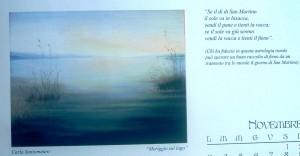 Calendario 2014, dipinto di Carla Santomauro