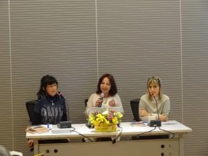 Aurora Cantini, l'Assessore alla Cultura Emanuela Testa, Irma Kurti