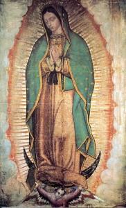 La Madonna di Guadalupe messicana