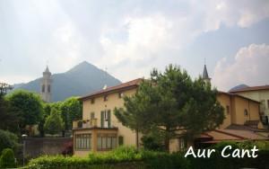 Oggi: gli edifici annessi alla chiesa della Madonna di Guadalupe di Albino, che ospitano le Suore delle Poverelle