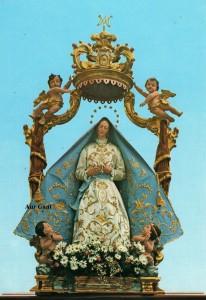La Madonna Immacolata vestita della chiesa di Ama di Aviatico, Bergamo