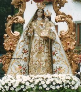La Madonna del Rosario vestita della chiesa di Selvino, Bergamo