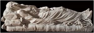 Cristo velato, di Antonio Canova