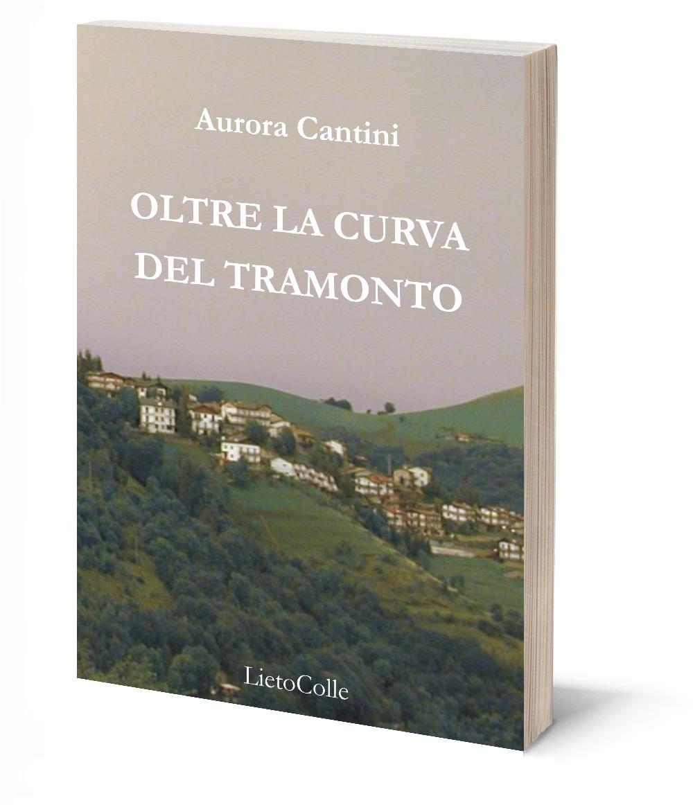 Aurora Cantini Oltre la curva del tramonto copertina