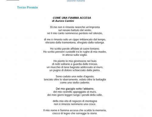 A Bovisio Masciago la poesia per il giovane alpino nella Grande Guerra