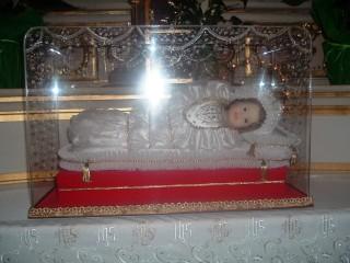Maria Bambina nella Chiesa Parrocchiale di Serina