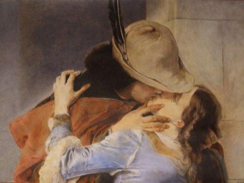 Quel bacio che da sempre rapisce il cuore dell'Umanità (Francesco Hayez a Milano)