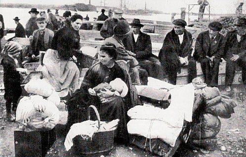 Quelle navi carretta di terza classe per gli emigranti di un tempo