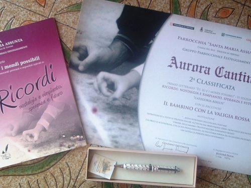"""Il romanzo """"Il bambino con la valigia rossa"""" sul podio al Premio letterario a Casale sul Sile"""
