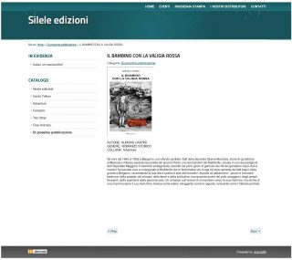 Silele Edizioni Anteprima Il bambconlavaligiarossa