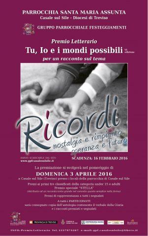 locandina premio letterario 2016 -ok