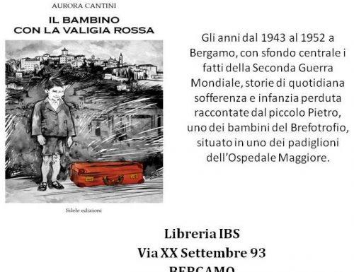 """Recensione per il romanzo """"Il bambino con la valigia rossa"""" presentato a Bergamo"""