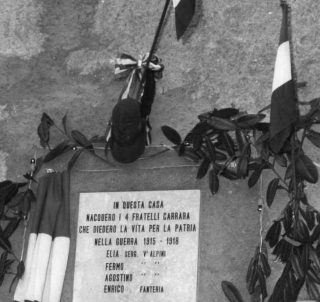 8 ottobre 1972 il Cappello del Sergente Elia Carrara