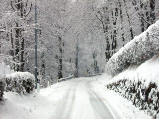 Inverno ad Amora di Aviatico, fotografia di Oscar Carrara