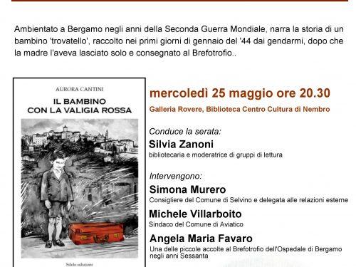 A Nembro la memoria dell'ex Brefotrofio di Bergamo nel romanzo sull'infanzia abbandonata
