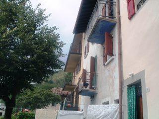 La casa in Aviatico presa in affitto in cui soggiornava Manzù