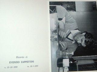 Il ricordo di Evenzio Zappettini, figlio di Maria Manzoni e di Mario