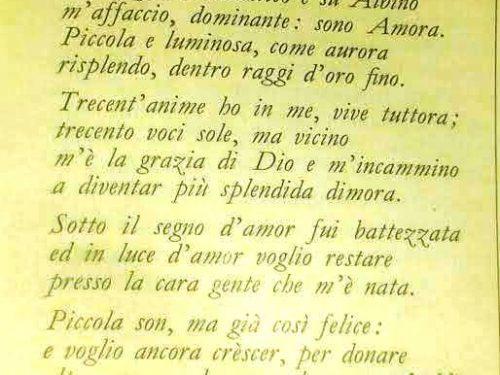 Nicola Cilenti, il cantore lucano che scrisse l'Ode bergamasca ad Amora
