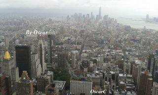 Manhattan dall'alto, foto di Oscar Carrara