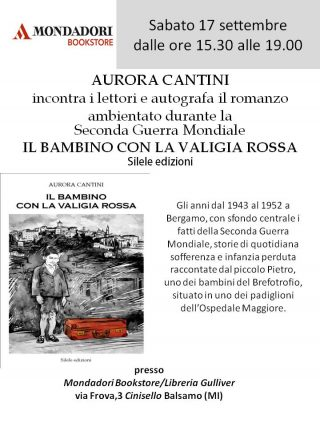 Cinisello Balsamo 17 settembre 2016 firma copie