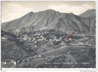 FOTO 1 Selvino con la zona dell'abitazione del Piccinini