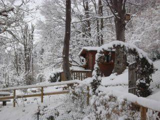 Radura d'inverno ad Amora di Aviatico, fotografia di Aurora Cantini
