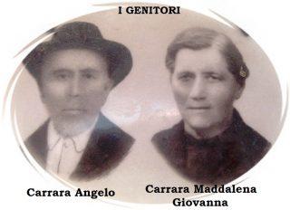 Carrara Angelo e Carrara Giovanna Maddalena