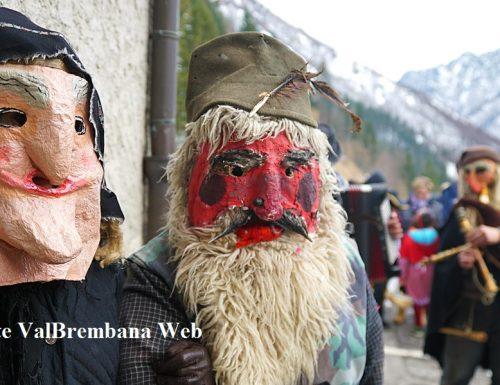 A Valtorta le maschere antiche del mondo contadino di montagna e dell'Homus Selvaticus