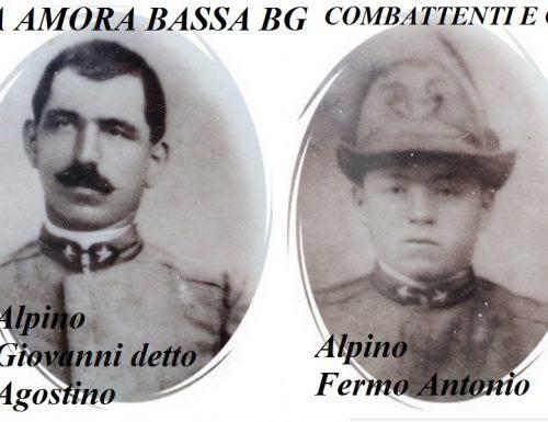Un libro dedicato ai bergamaschi fratelli Carrara nel Centenario della Grande Guerra