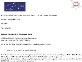 Aurora Cantini_FINALISTA Romano Una tra i Mille, Anita