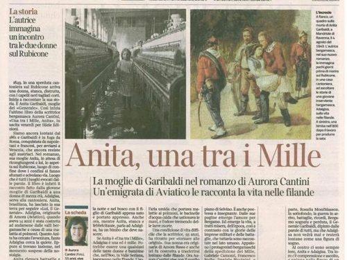 """La recensione di Gisella Laterza per """"Una tra i Mille, Anita"""""""