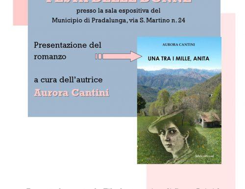 8 marzo a Pradalunga, Anita Garibaldi e la forza delle donne