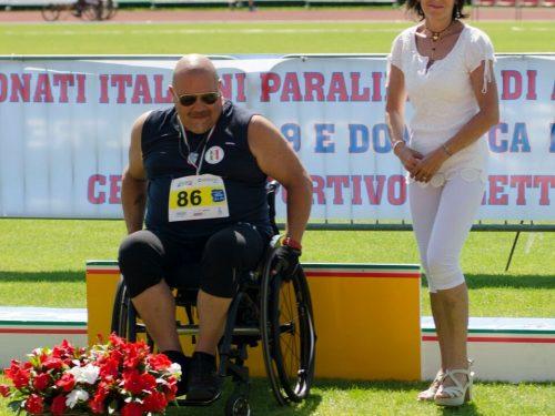 Campionati atletica paralimpica a Nembro, lo sport incontra la poesia