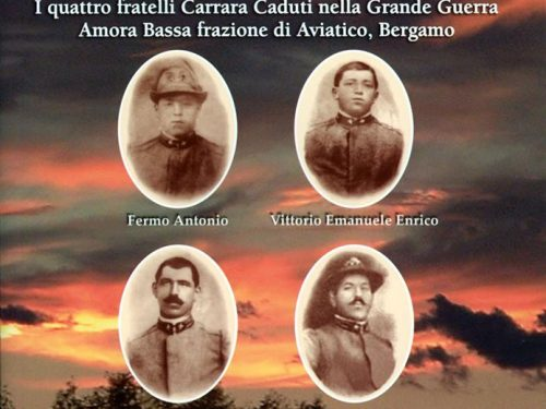"""I commenti dei lettori per il memoriale """"Come una fiamma accesa"""" sui fratelli Carrara nella Grande Guerra"""