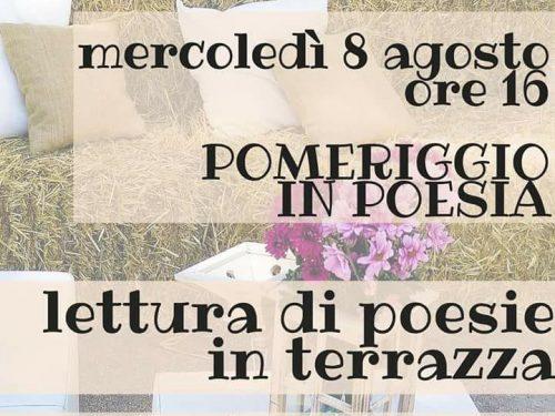 Poesia in terrazza, parole poetiche da scoprire e gustare