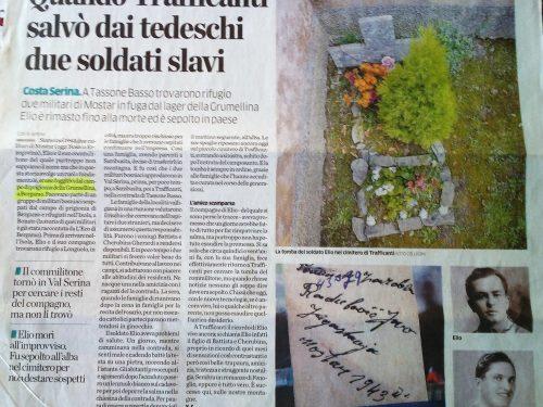 A Trafficanti la tomba dello sconosciuto soldato slavo