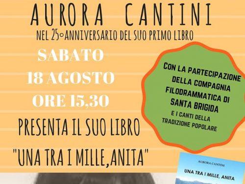 Festeggiando 25 anni dalla prima pubblicazione di Aurora Cantini
