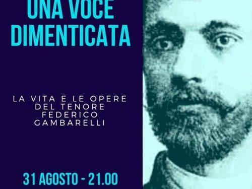A Premolo l'omaggio al Tenore Gambarelli