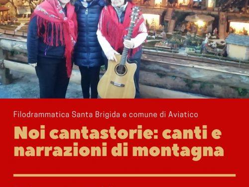 Canti e narrazioni della gente di montagna con la Filodrammatica di Santa Brigida