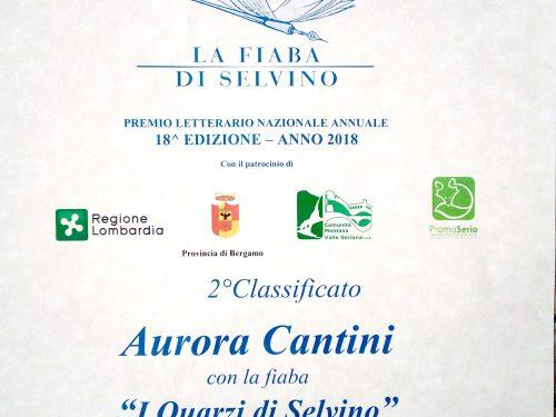 I Quarzi di Selvino nella fiaba di Aurora Cantini seconda classificata al concorso letterario