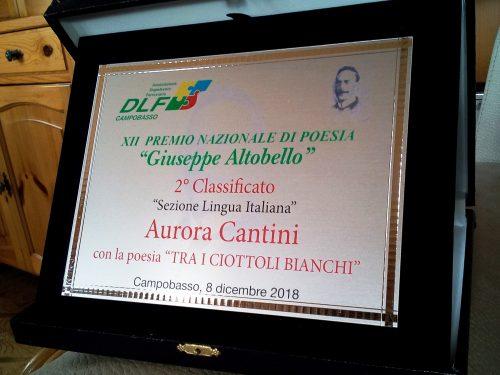La poesia per il fiume Brembo vince a Campobasso