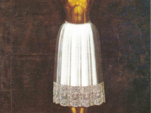 Cristo di Scicli, il Crocifisso con la Veste