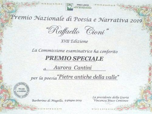 Premio Speciale alla poesia che racconta i borghi scomparsi