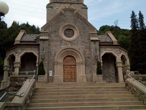 Il Tempio dei Caduti a San Pellegrino Terme