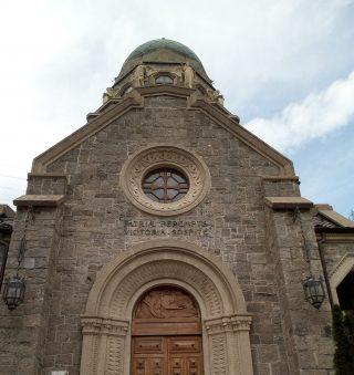 La scritta in latino, Tempo dei Caduti San Pellgrino Terme
