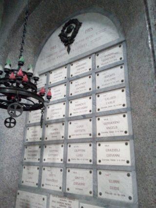 Il secondo elenco dei Caduti nel Tempio San Pellegrino Terme
