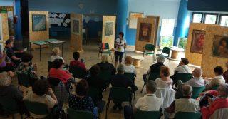 """La poetessa Aurora Cantini introduce """"Poesie in terrazza"""" presso la biblioteca di Selvino"""